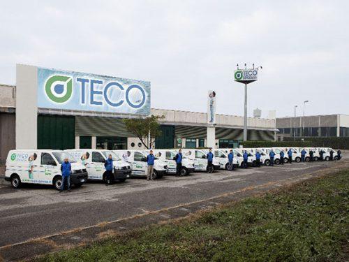 Aggiornamento sito per Teco Group, assistenza depuratori d'acqua