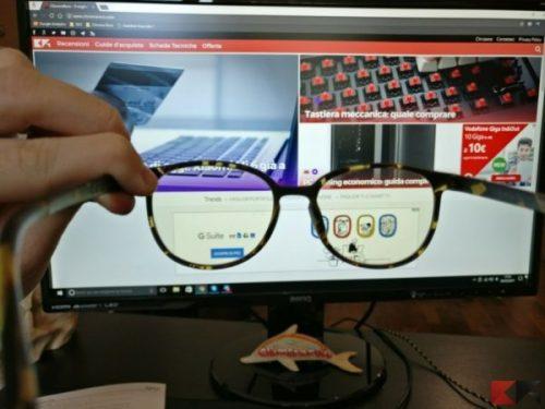 A cosa servono gli occhiali anti luce blu