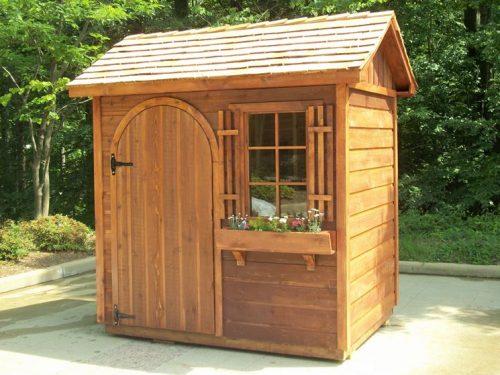 Le strutture in legno da mettere in giardino